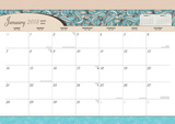 Seaside Manor - 2018 Desk Pad Calendar Kalenders