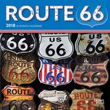 Route 66 - 2018 Mini Calendar Kalenders
