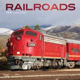 Railroads - 2018 Calendar Kalenders