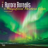Aurora Borealis: The Magnificent Northern Lights - 2018 Calendar Kalenders