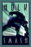 Marvel Deco - Hulk Kunstdrucke