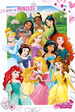 Disney Princess - I Am A Princess Prints