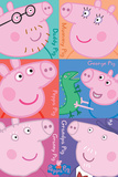 Peppa Pig - Squares Poster