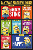 Despicable Me 3 - Can't Wait For The Weekend Posters