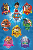 Paw Patrol - Crests Posters