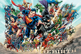 Justice League - Rebirth Posters