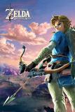 The Legend Of Zelda: Breath Of The Wild - Hyrule Scene Landscape Posters