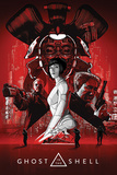 Ghost In The Shell - Red Affiches