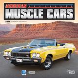 American Muscle Cars - 2018 Mini Calendar Kalenders