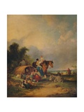 A Gipsy Encampment, c1788 Giclee Print by William Shayer