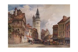 Evreux, c1855 Giclee Print by William Callow