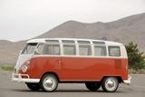 VW micro bus 1964 Valokuvavedos tekijänä Simon Clay