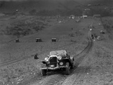 Jensen V8 competing in the London Motor Club Coventry Cup Trial, Knatts Hill, Kent, 1938 Reproduction photographique par Bill Brunell