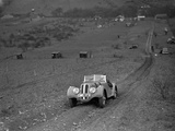 Frazer-Nash BMW 328 of H Wood at the London Motor Club Coventry Cup Trial, Knatts Hill, Kent, 1938 Reproduction photographique par Bill Brunell