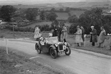 Austin 7 Nippy of DN Kennedy competing in the South Wales Auto Club Welsh Rally, 1937 Reproduction photographique par Bill Brunell