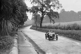 Austin Ulster of Archie Frazer-Nash competing in the RAC TT Race, Ards Circuit, Belfast, 1929 Reproduction photographique par Bill Brunell