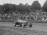 Alfa Romeo Monza of Kenneth Evans racing at Crystal Palace, London, 1939 Reproduction photographique par Bill Brunell
