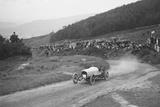 Bertie Kensington Moirs Bentley stripped 2-seater, Caerphilly Hillclimb, Wales, 1923 Reproduction photographique par Bill Brunell