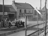 Alfa Romeo of FW Stiles, Boulogne Motor Week, France, 1928 Reproduction photographique par Bill Brunell