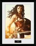 Wonder Woman - Sword Reproduction encadrée pour collectionneurs