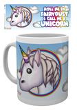 Emoji - Unicorn Fairy Dust Mug Taza