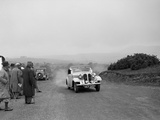 Frazer-Nash BMW 319 of D Impanni competing in the South Wales Auto Club Welsh Rally, 1937 Reproduction photographique par Bill Brunell