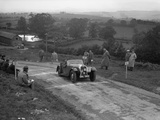 Morgan 4 - 4 2-seater sports of GN Scott competing in the South Wales Auto Club Welsh Rally, 1937 Reproduction photographique par Bill Brunell