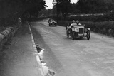 Austin Ulsters of SV Holbrook and Archie Frazer-Nash, RAC TT Race, Ards Circuit, Belfast, 1929 Reproduction photographique par Bill Brunell