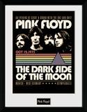 Pink Floyd - 1973 Reproduction encadrée pour collectionneurs