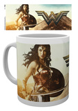 Wonder Woman - Sword Mug Taza