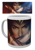 Wonder Woman - Cross Mug Mug