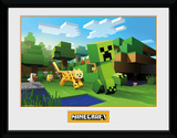 Minecraft - Ocelot Chase Collector Print