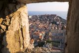 Franciscan Monastery and Rooftops by Sea in Dubrovnik, Croatia Premium fotografisk trykk av Krista Rossow
