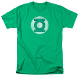 Green Lantern - Distressed Logo T-skjorter