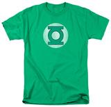 Green Lantern - Distressed Logo T-Shirts