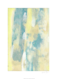 Turquoise Transparency I Limited Edition by Jennifer Goldberger