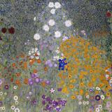 Flower Garden (Bauerngarten). 1905-07 Giclée-Druck von Gustav Klimt