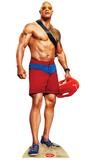 Mitch Buchannon No Shirt - Baywatch Movie Cardboard Cutouts