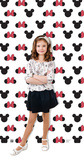 Mickey and Minnie Ears Step and Repeat Standup Cardboard Cutouts