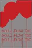 Floating Balloons Posters