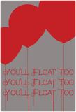 Floating Balloons Plakater