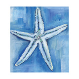 Starfish Blues Art by Anne Seay