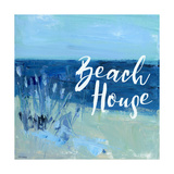 Maison en bord de plage Poster par Pamela J. Wingard