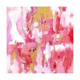 Abstract Dream Pink Gold Posters par Pamela J. Wingard