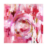 Abstract Dream Pink Gold II Art par Pamela J. Wingard