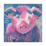 Pinky Pig Poster par Pamela J. Wingard