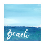Beach By the Sea Posters par Pamela J. Wingard