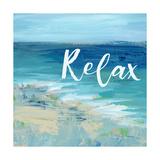 Relax By the Sea Affiches par Pamela J. Wingard