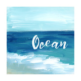 Ocean By the Sea Affiches par Pamela J. Wingard