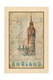 Travel England Posters by Ramona Murdock